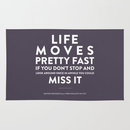 Life - Quotable Series Rug