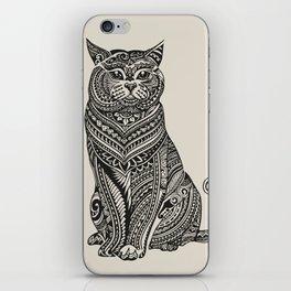 Polynesian British Shorthair cat iPhone Skin
