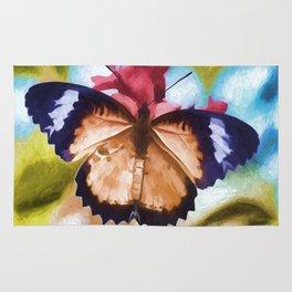 Flying Flower Rug