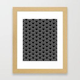 Art Deco Scallop | Billy & Pat Framed Art Print