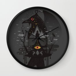 Prisoners Wall Clock