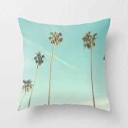 Palm Trees 2 Throw Pillow