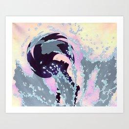Splish Splash Art Print