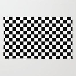 Checker (Black & White Pattern) Rug