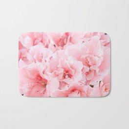 Pink Azalea Flower Dream #2 #floral #decor #art #society6 Bath Mat