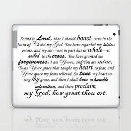 Prayer of Hymns Laptop & iPad Skin