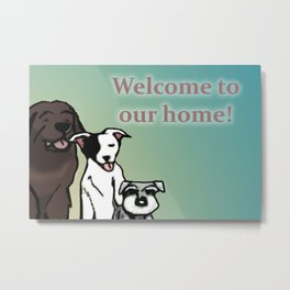 Our Dogs Metal Print