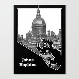 Johns Hopkins Canvas Print