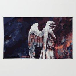 Weeping Angel Rug