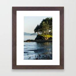 Edge of the Water Framed Art Print