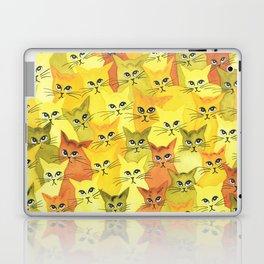 Yellowstone Whimsical Cats Laptop & iPad Skin