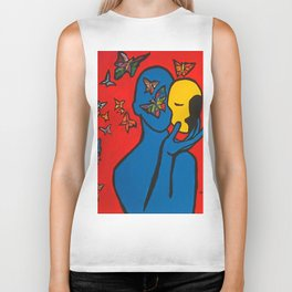 SKIN DEEP  (ORIGINAL SOLD)  #Society6  #decor  #buyart Biker Tank