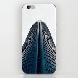 Skyscraper in Madrid iPhone Skin