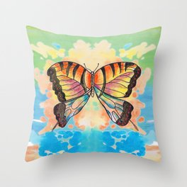 Simply Butterfly Throw Pillow