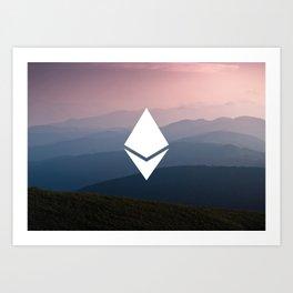 Ethereum Art Print