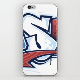 USA in Graffiti iPhone Skin