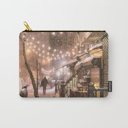Snow - New York City - East Village Carry-All Pouch
