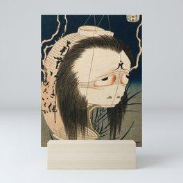 Oiwa Japanese Ghost, Hokusai, 1830 Mini Art Print