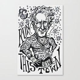 Run This Town Canvas Print