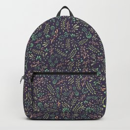Pastel Flower Ditsy Pattern Backpack