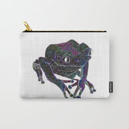 Psychedelic Giant Monkey Frog Carry-All Pouch