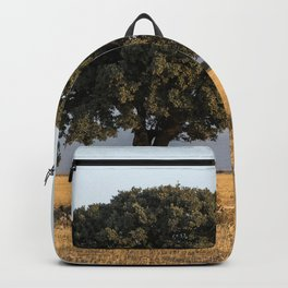 The lone tree Backpack