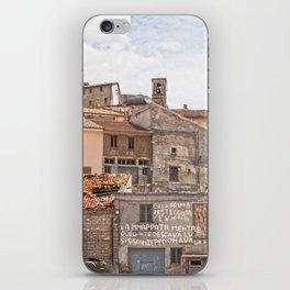 Italian mountain village iPhone Skin