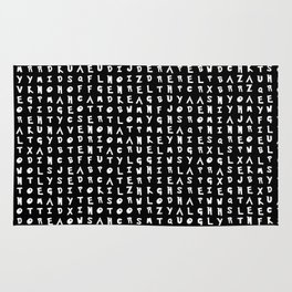 Word Search: Pocket Monsters Rug