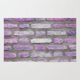 Venetian Bricks in Pink and Lavender Rug