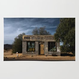 Abandoned Post Office in Kelso California Rug