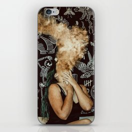 Up in smoke iPhone Skin