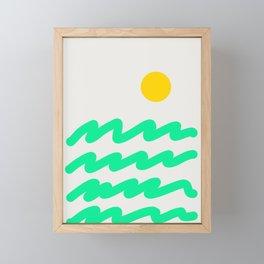 Abstract Landscape 07 Framed Mini Art Print