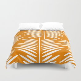 Leaves- minimal Duvet Cover