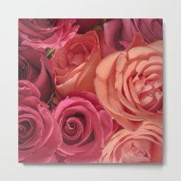 pink_rose Metal Print