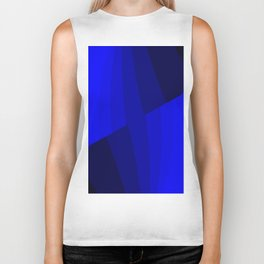 Just Blue #decor #society6 Biker Tank