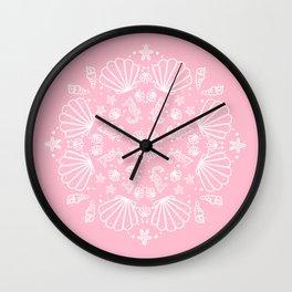 PinkMermaid Wall Clock