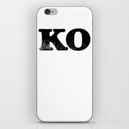 KO iPhone Skin