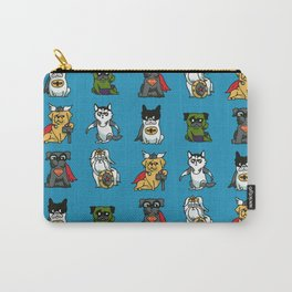 Superhero Puppies Carry-All Pouch