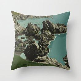 Dungeon Provincial Park Throw Pillow