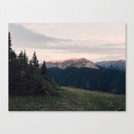 Mountain Sunrise 2 Canvas Print
