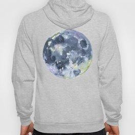 Full Moon Watercolor Hoody