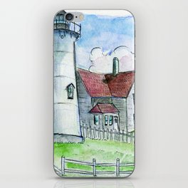 Nobska Lighthouse iPhone Skin