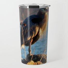 Heron beauty Travel Mug