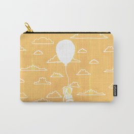 Cloudy Balloon Carry-All Pouch