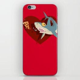 Pizza Shark iPhone Skin
