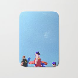 Super...on the beach Bath Mat