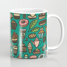 Coffee and pastry  Coffee Mug