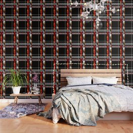 Abstraction .Weave . Patchwork . Wallpaper