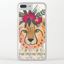 Cheetah Clear iPhone Case