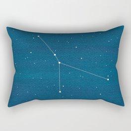 Cancer zodiac constellation Rectangular Pillow